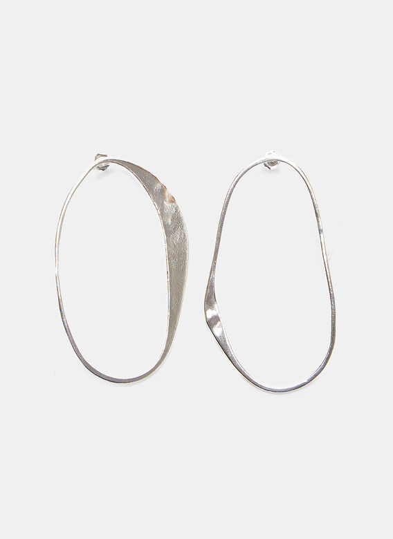 Rebecca Pinto X Simon Miller Arp Abstract Hoop Earrings