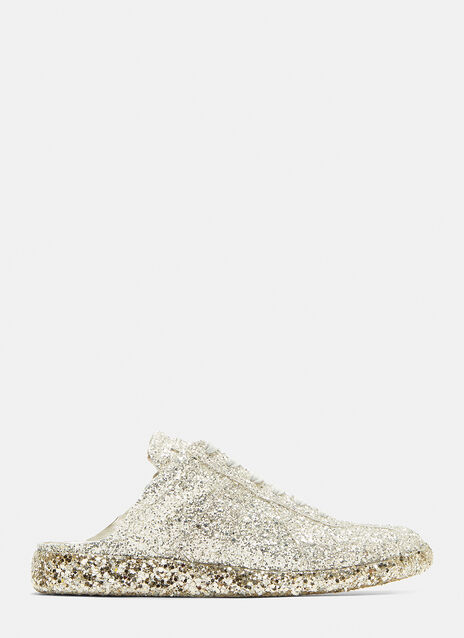 Maison Margiela Glitter Cut-Out Replica Sneakers
