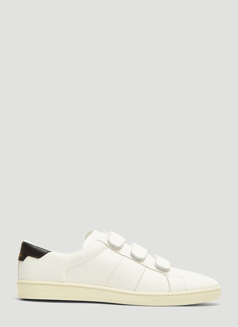 Saint Laurent Touch Fastened Court Classic Sneakers