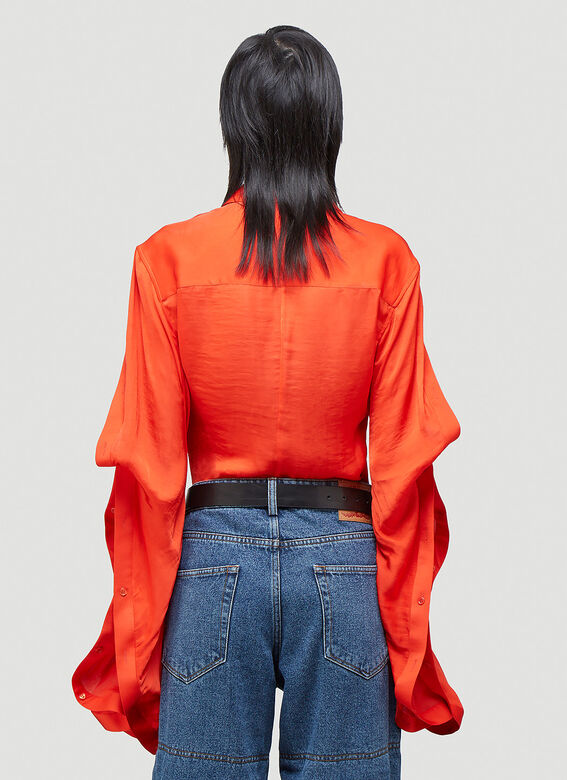 Y/Project RUFFLE SLEEVE SHIRT 4