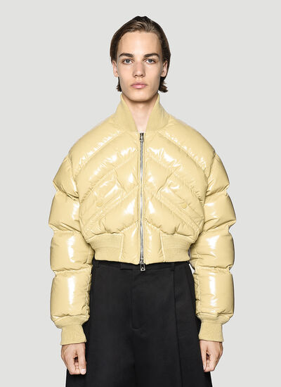 Bottega Veneta Leather Padded Jacket