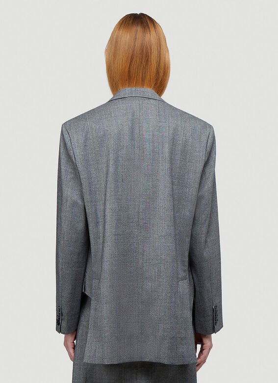 Vetements CUT-OUT TAILORED JACKET 4