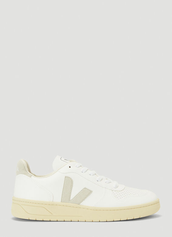 Veja V-10 WHITE_NATURAL_BUTTER-SOLE 1