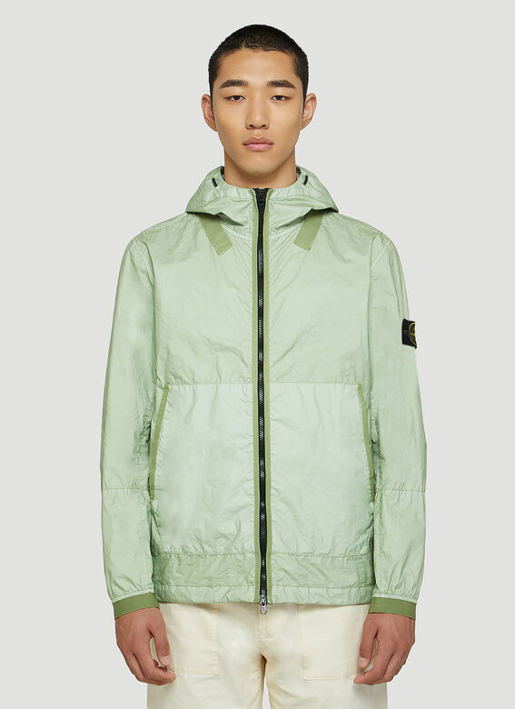 Stone Island Crinkle Hooded Jacket 1