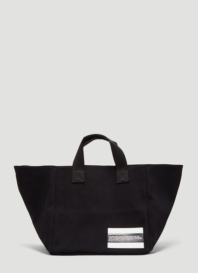 Calvin Klein Est 1978 Patch Canvas Box Tote