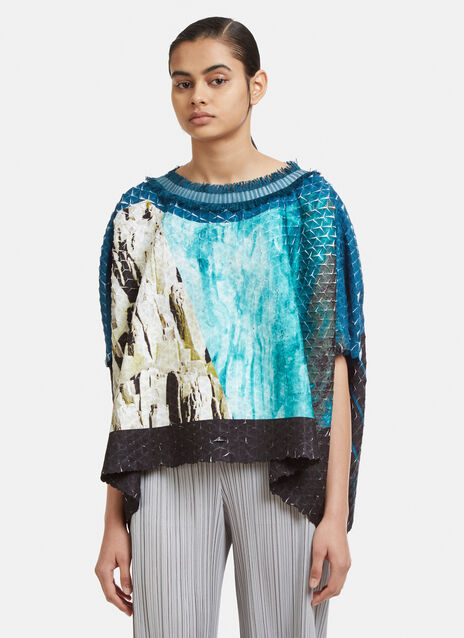 Issey Miyake Retrospect Pleated Top