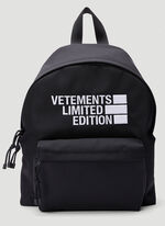 Vetements Logo Limited Edition Backpack