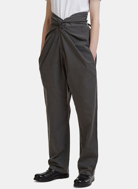 Bow Front Pants