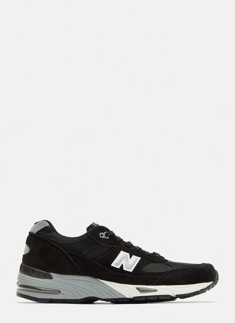 New Balance 991 Suede Mesh Sneakers
