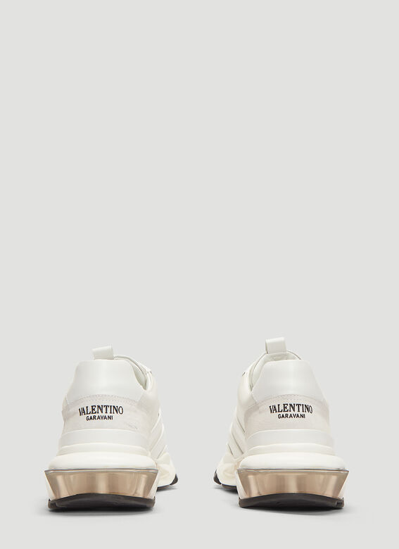 Valentino Bounce Leather Sneakers