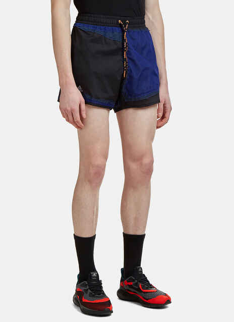 Adidas By Kolor Patchwork Decon Shorts
