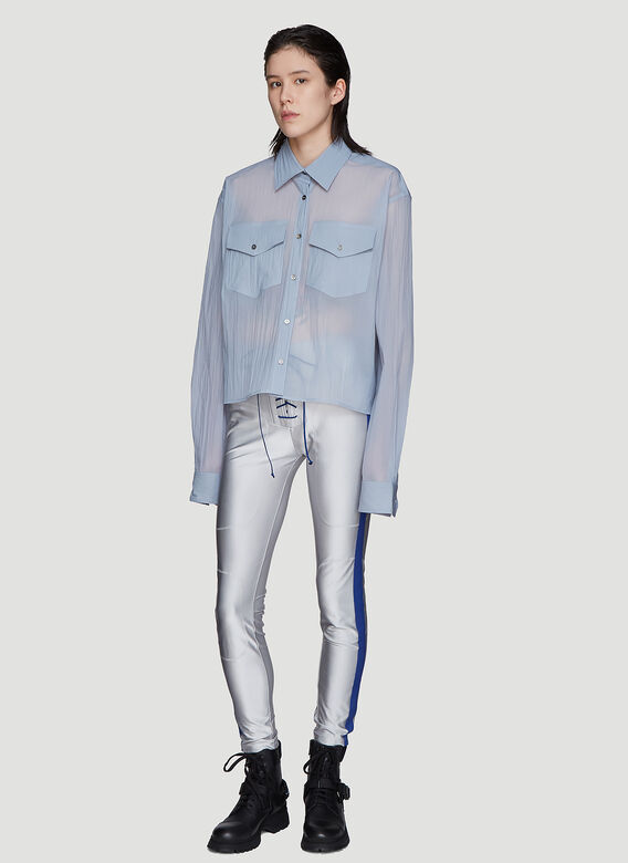 Unravel Project Crinkled Workwear Shirt
