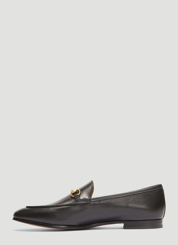 Gucci Jordaan Leather Loafers 3