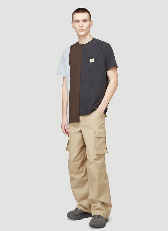 (Di)vision Reworked Carhartt Triple Split T-Shirt 2