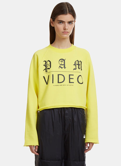 Video Cropped Sweater