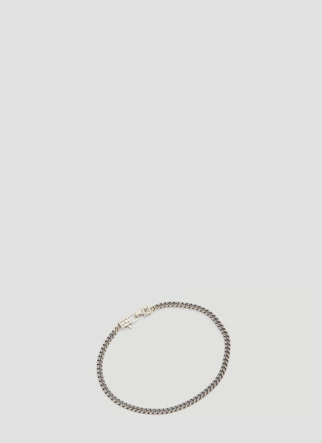 Tom Wood 7 inch Silver Curb Bracelet