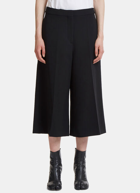 Stella McCartney Wide Wrap Cropped Culottes