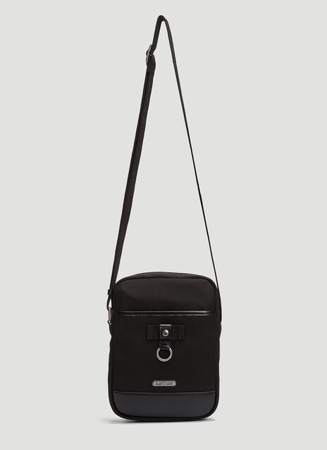 Saint laurent Rivington Canvas Crossbody Bag