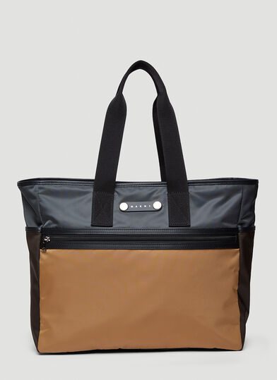 마르니 Marni Hackney Tote Bag in Brown