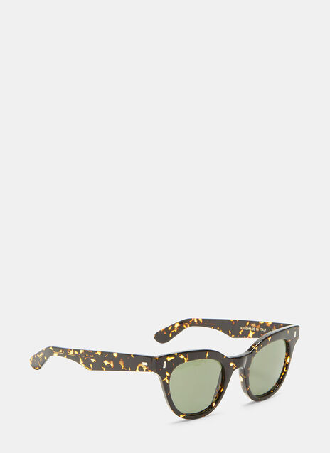 L.G.R. Turkana Havana Cat Eye Sunglasses