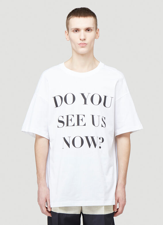 Botter LEANING FORWARD BOTTER T-SHIRT-DO YOU SEE US NOW? 1