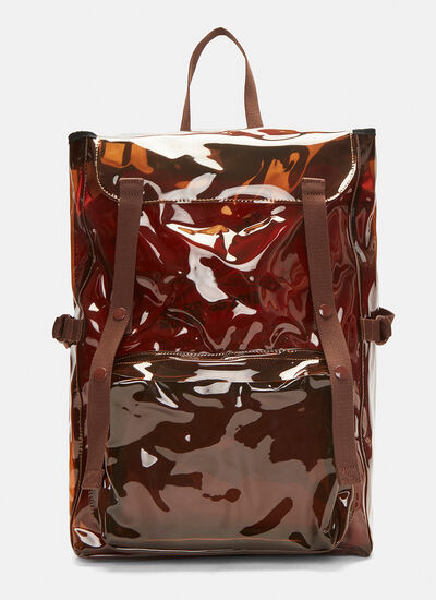 Raf Simons X Eastpak Transparent Backpack