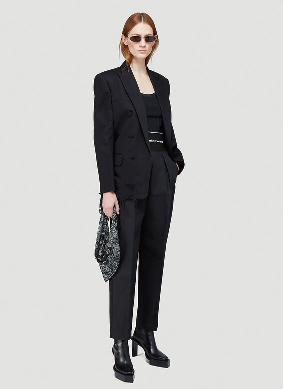Alexander Wang Double-Breasted Blazer 2