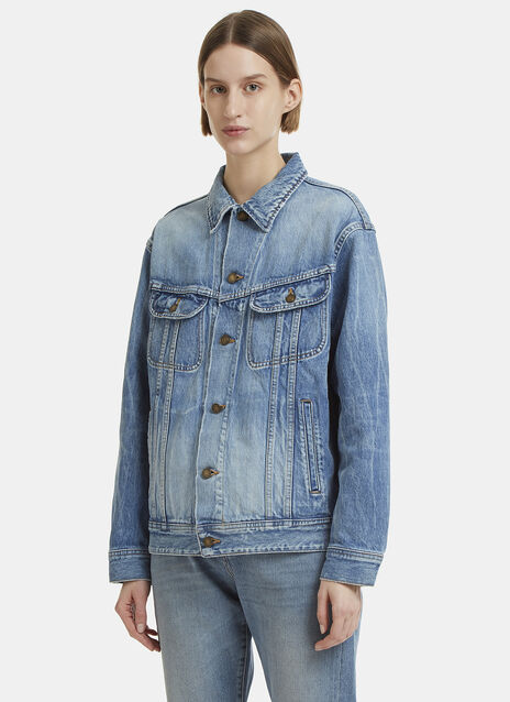 Saint Laurent Oversized Denim Jacket
