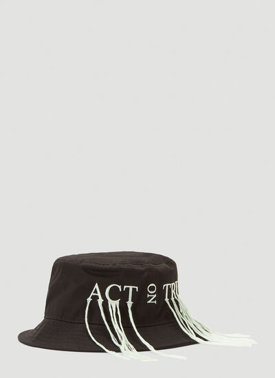 Acne Studios Embroidered Bucket Hat