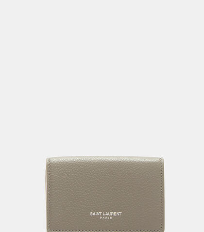 Paris Petite Grained Wallet