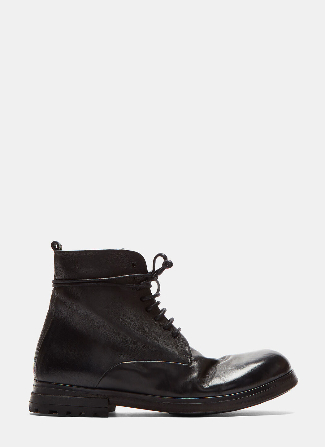 MARSÈLL Zuccarr High Leather Boots In Black