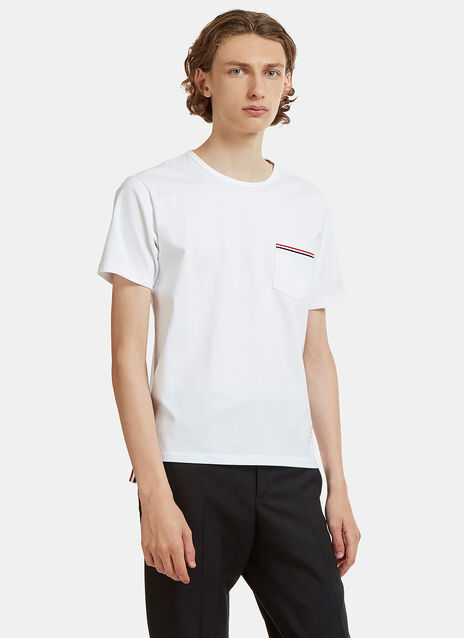 Thom Browne Classic Patch Pocket T-Shirt
