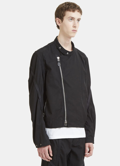 Issey Miyake Men Cross-Over Taped Gabardine Jacket