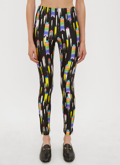 Gucci Shooting Stars Jersey Leggings