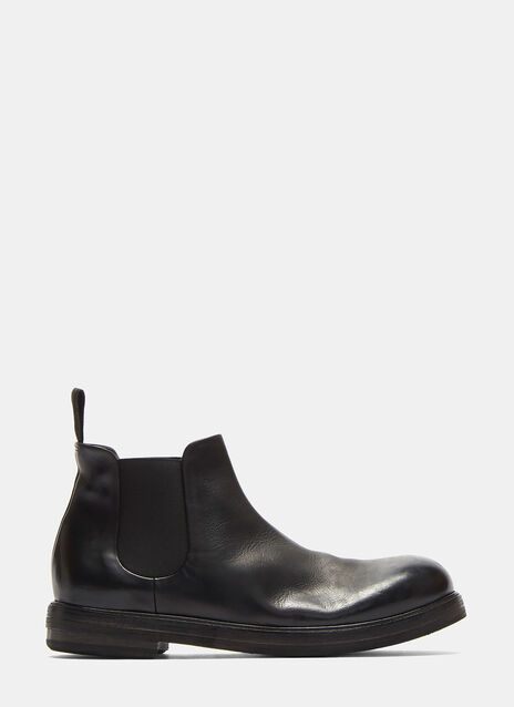 Zucca Zeppa Media Leather Boots