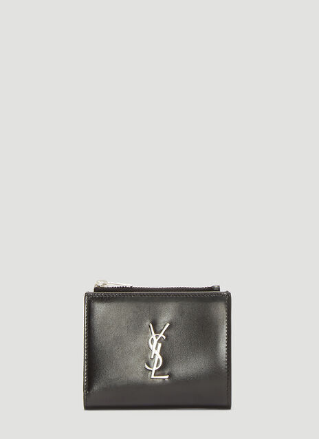 Saint laurent Monogram Zipped Card Case