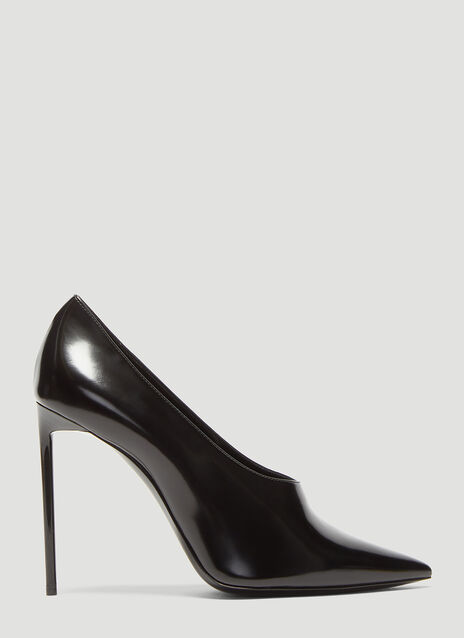 Saint Laurent Teddy Stiletto Pumps