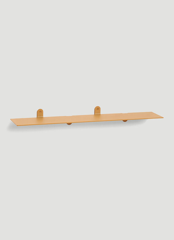 Valerie_objects Etagere N°1 Mvs Bended Steel 3Mm - 74X15X8 Messing 1