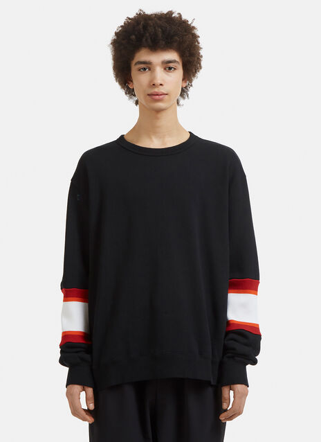 Facetasm Rib Panel Sweatshirt