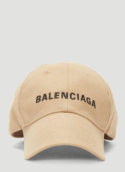 Balenciaga Embroidered Baseball Cap