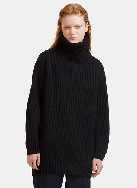 Acne Studios Disa Oversized Ribbed Knit Sweater