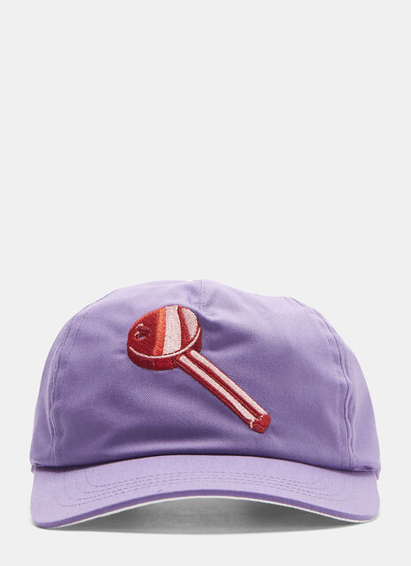 Acne Studios Heart Key Patch Cap