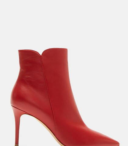 Levy Pointed Stiletto Ankle Boots