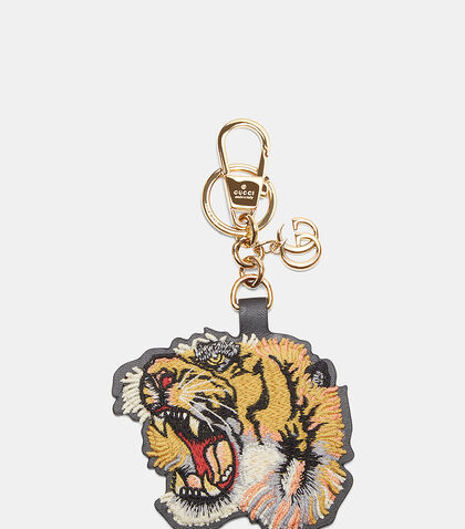 Embroidered Tiger Key Chain