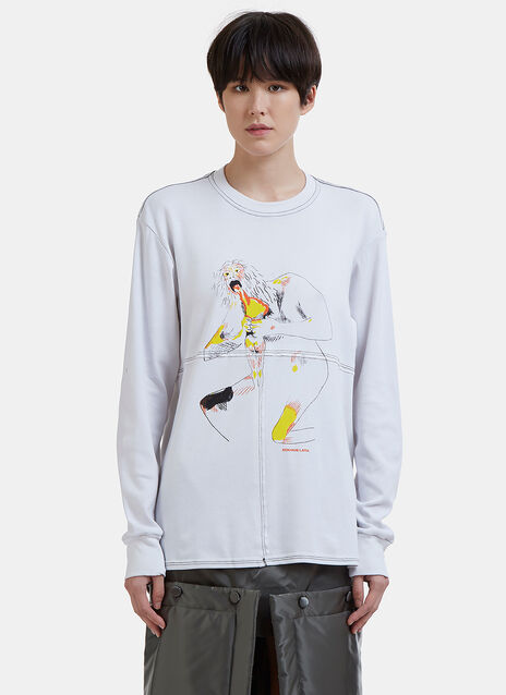 Lapped Long Sleeved Goya T-Shirt