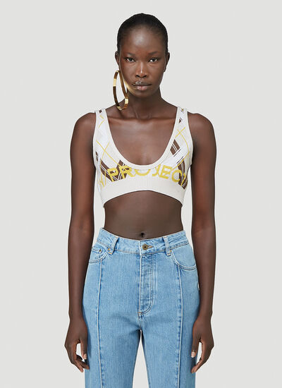 Y/Project Knitted Bra Top