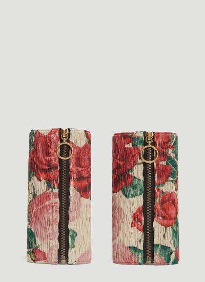 Gucci Floral Elasticated Ankle Belts