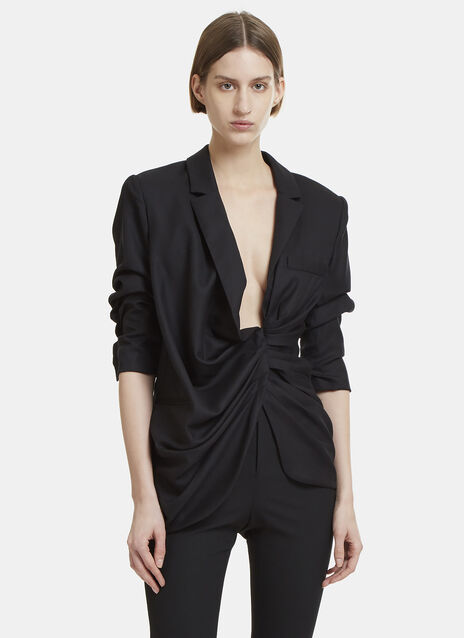 Ruched Bahia Collar Jacket