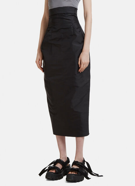 Rick Owens Dirt Pillar Skirt