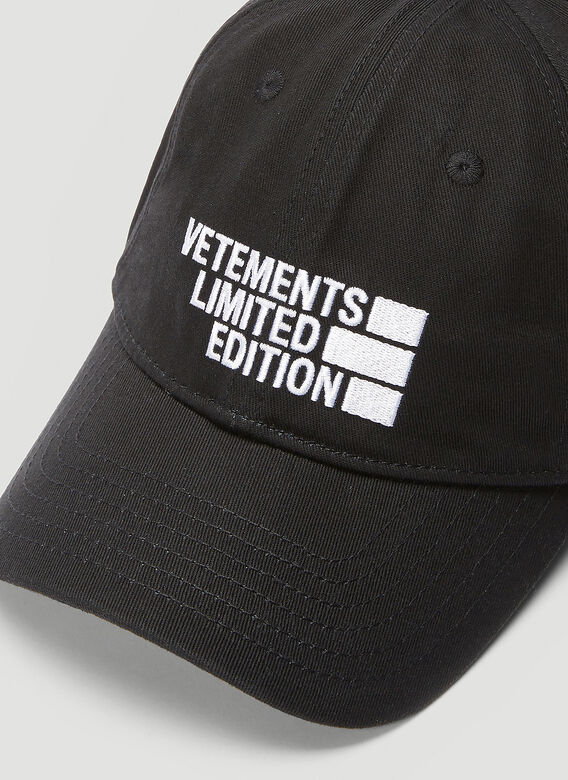 Vetements Logo Limited Edition Baseball Cap 4